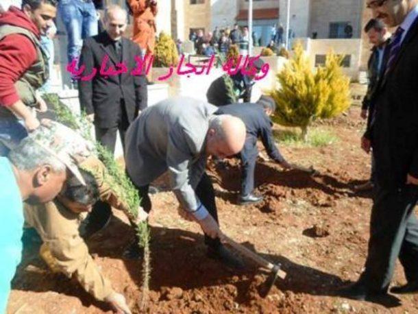 جامعة عجلون الوطنية تحتفل بعيد الشجرة..الاربعاء