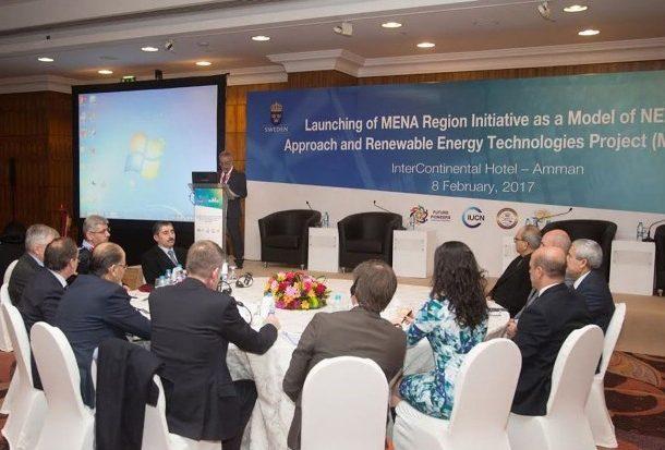 إطلاق المبادرة الإقليمية حول الترابط بين المياه والطاقة والغذاء