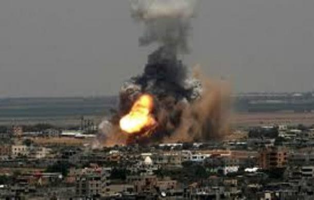 غارات جوية اسرائيلية على قطاع غزة